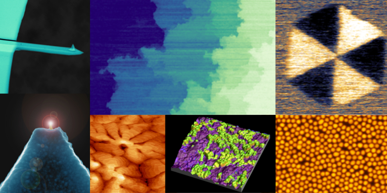 AFM images from our lab